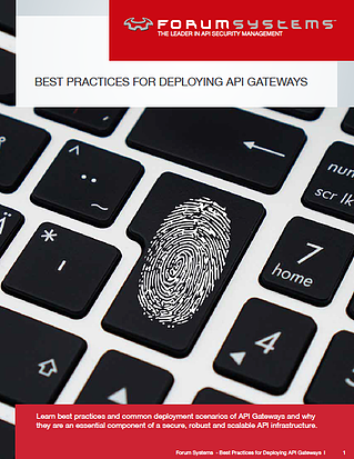 Best Practices In API Security| Deploying API Gateways | Forum Systems
